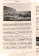 Coupure De Presse  - 4 Gravures - Année 1895 - La Réunion - Vieux Papiers