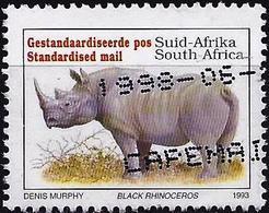 South Africa 1996 - Mi 896 II AI - YT 813A  ( Fauna : Rhinoceros ) - Sud Africa (1961-...)
