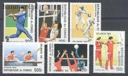 Congo 1996 Mi 1437-1442 MNH ( ZS6 CNG1437-1442 ) - Tiro Al Arco