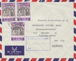 Libyen: 1976: Tripoli Air Mail An BMW München - Italy