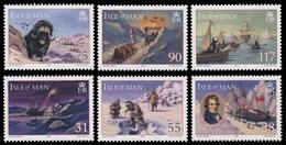 Isle Of Man 2007 - Mi-Nr. 1391-1396 ** - MNH - Schiffe / Ships - Ross - Man (Insel)