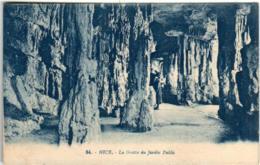 61iom 96 CPA - NICE - LA GROTTE DU JARDIN PUBLIC - Nizza