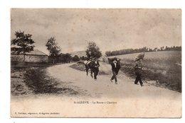 Saint-Agreve. La Route A Claviere. - Saint Agrève
