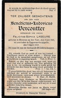 Beveren/a/Ijzer, Eggewaertscappelle, Benedictus Vercoutter, Laseure - Devotion Images