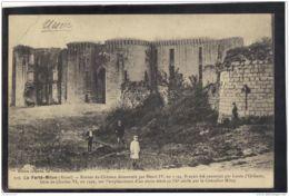 02418 .  LA FERTE MILON . RUINES DU CHATEAU .. ANNEE  1915. ANIMATION - Sonstige Gemeinden