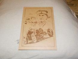 VAINQUEUR GRAND PRIX DE MONACO WILLIAMS SUR BUGATTI 35B 1929 - Grand Prix / F1