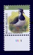 BELGIE * Buzin * Nr 4367  Plaatnr 1 * Postfris Xx * DOF WIT  PAPIER - 1985-.. Vogels (Buzin)