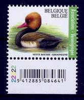 BELGIE * Buzin * Nr 4759  Plaatnr 2 * Postfris Xx * WIT  PAPIER - 1985-.. Oiseaux (Buzin)