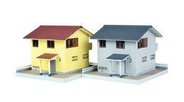 Tomytec Diorama :  Residential  1/150 ( N Gauge ) - Versieringen