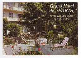 73 Aix Les Bains Grand Hôtel De Paris 9 Rue Dacquin Propri O. GAIME MUFFAT VOIR DOS Et Plan De Situation - Aix Les Bains