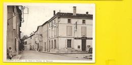 CLAIRAC Rare La Poste Et Avenue De Tonneins (Combier) Lot Et Garonne (47) - France