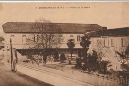 MAUBOURGUET  L'Hôpital Et Le Jardin - Maubourguet