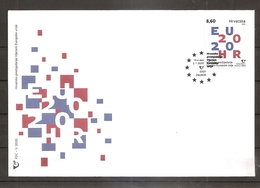 CROATIA 2020,CROATIAN PRESIDENCY OF THE COUNCIL OF THE EUROPEAN UNION,FDC - Croacia
