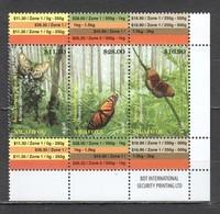 WW153 2014 NIUAFO'OU FAUNA INSECTS & BUTTERFLIES !!! MICHEL 60 EURO 1SET MNH - Farfalle