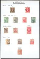 Petite Collection De +/- 120 Timbres (o) D'Argentine - Collections, Lots & Séries