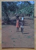 Burundi - Retour De La Fontaine - Animée : Enfants - CPM - (n°17210) - Burundi