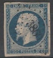 Petits Chiffres - VAR - ST NAZAIRE DU VAR - PC 3860 - 1849-1876: Période Classique
