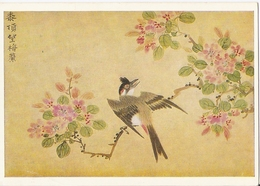 AN 657 , MODERN POSTCARD , CPM , FINE ART , BIRDS , Signed LI YOUEN KIEN - Oiseaux