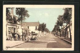 CPA Bourges, Avenue De Saint-Amand - Bourges