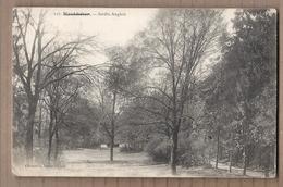 CPA 80 - MONTDIDIER - Jardin Anglais - TB PLAN Parc Et Arbres + Jolie Oblitération Verso 1914 - Montdidier