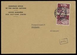 1950, Schweiz Europäisches Amt Der Vereinten Nationen ONU, 4 (2) ... (1686022067) - Oficial