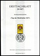 BRD - 1977 ETB 24/1977 - Mi 948 - 10Pf             Tag Der Briefmarke 77 - [7] República Federal