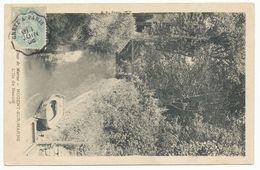 GRETZ A PARIS CONVOYEUR CP 1905 SEINE ET MARNE - Poststempel (Briefe)