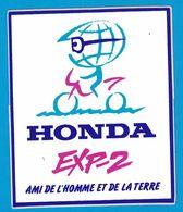 AUTOCOLLANT HONDA EXP-2 AMI DE L'HOMME ET DE LA TERRE - Stickers