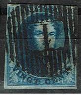 7  Obl  D 1  Namèche  + 30  Touché - 1851-1857 Medallones (6/8)
