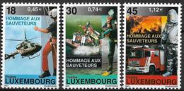 2001 Luxemburg Mi. 1532-4**MNH. Freiwillige Und Professionelle Rettungskräfte. - Luxembourg