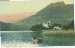 Lac D'Annecy; Duingt. Le Château Et Dent De Lanfon - Non Voyagé. (LL.) - Annecy