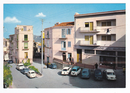Sicilia Palermo CASTELBUONO Place Du Peuple N°71073 Voitures Banco De Sicilia Fiat Triumph Camion Ancien VOIR DOS - Palermo