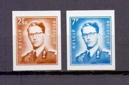 1574/75 Boudewijn Met Bril 2f50 En 7f ONGETAND POSTFRIS**  1971 - Belgique