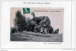 63 - ROCHEFORT- MONTAGNE - Grottes Du Chateau Féodal - France