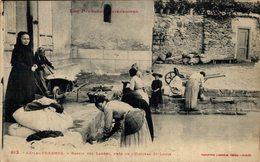 AX LES THERMES = Bassin Des Ladres Pres De L'hopital St Louis   France Frankreich Francia - Foix