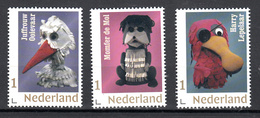 Nederland 2019 Nvph Nr ??. Mi Nr ?? : 'Fabeltjeskrant Harry Lepelaar + Juff. Ooievaar + Hr De Mol - Neufs