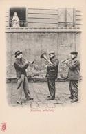 CPA  - Musiciens Ambulants à Paris - Kunzli Avant 1905 - Métiers