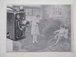 "Théme Appareil Photo & Camera -  Caméra Pour Projecteur   ""KODAK ""   - Ancienne Coupure De Presse De 1930 - Filmkameras - Filmprojektoren"