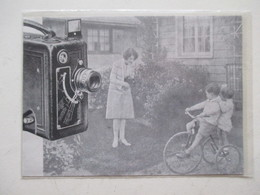 """Théme Appareil Photo & Camera -  Caméra Pour Projecteur   """"KODAK """"   - Ancienne Coupure De Presse De 1930 - Filmprojectoren"""