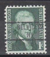 USA Precancel Vorausentwertung Preo, Locals New Jersey, Belvidere 841 - Vereinigte Staaten