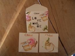 Carte Chloe A/patches Et Eveloppe - Modernes (à Partir De 1961)