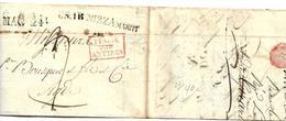 FP209 / FRANKREICH - Nizza Via Di Mare Nach Agide - Poststempel (Briefe)