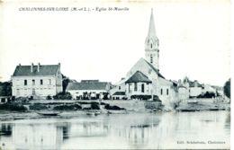N°3340 T -cpa Chalonnes Sur Loire -église St Maurille- - Chalonnes Sur Loire