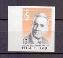 2154 ARTHUR MEULEMANS ONGETAND POSTFRIS**  1984 - Belgien