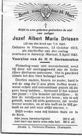 Driesen J.a.m. (oorlogsslachtoffer Vlimmeren 1915 -mortsel 1943) - Godsdienst & Esoterisme