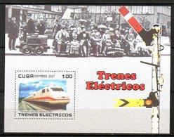 CUBA. BF 220 De 2007. Train électrique. - Treni