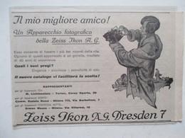 Théme Appareil Photo & Camera - Modèle ZEISS IKON  - Ancienne Coupure De Presse Italienne 1929 - Appareils Photo