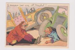 Reclame Publicité Cigarettes ST- Michel (illustrateur Romeo Dumoulin) Impecable Carte Vierge - Werbepostkarten