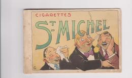Reclame Publicité Cigarettes ST- Michel (illustrateur Romeo Dumoulin) Carnet Vide - Werbepostkarten