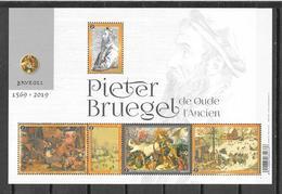"""België 2019 Velletje  """" PIETER BRUEGEL De Oude """"  (**) - Belgique"""